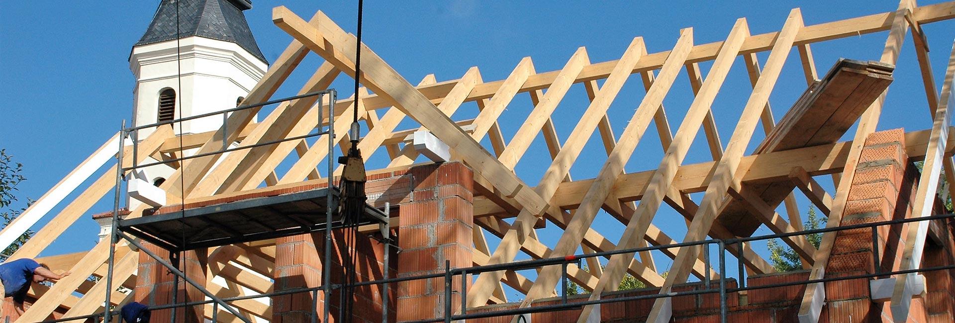 Neubauten, Massivbauten, Altbausanierung, Rohbauten und Umbauten bei Landshut