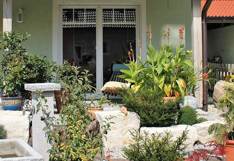 Garten Doppelhaushälfte Altdorf